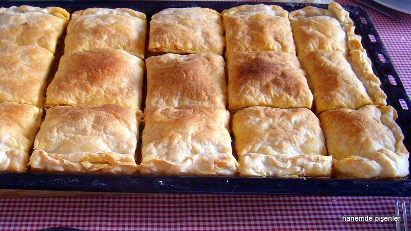 El Açması Patlıcanlı Börek Vs Yufkadan Tavuklu Börek