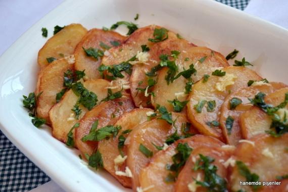 ekşili patates meze