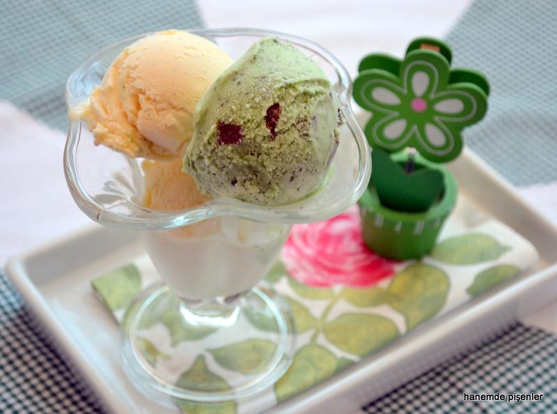 Gerçek Vanilyalı Dondurma Hanemde Pişenler
