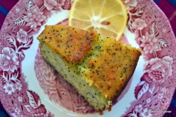 portakallı, limonlu ıslak kek
