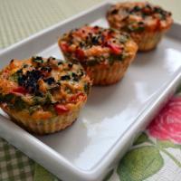 Diyet sebzeli muffinler