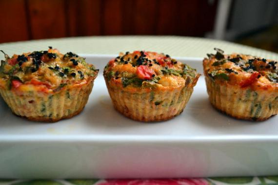 sebzeli diyet muffin
