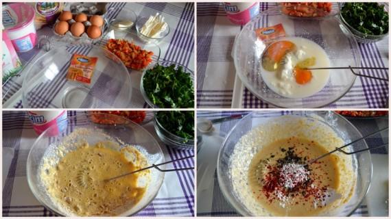 dukan sebzeli muffin hazırlık
