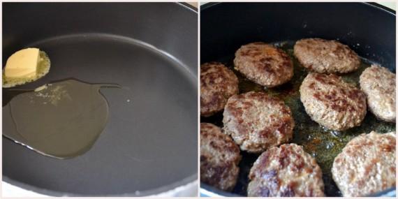 salisbury köfte pişirme