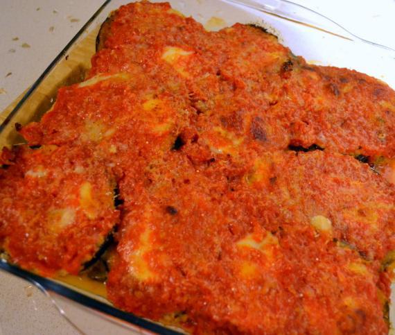 patlıcan parmesan